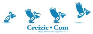 bandeau Creizic bleu pelicans 300x112